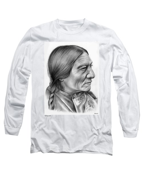 Sitting Bull Long Sleeve T-Shirt