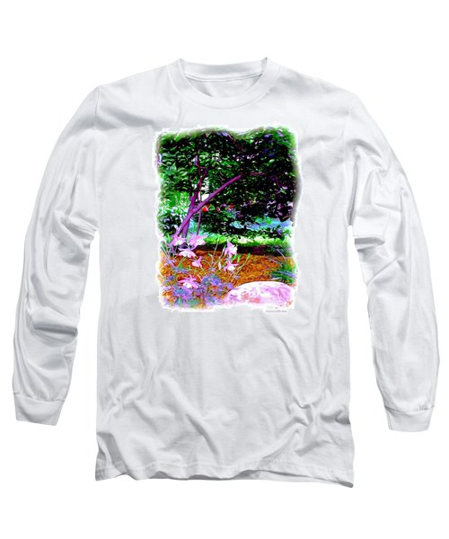 Long Sleeve T-Shirt featuring the painting Sitting In The Shade by Patricia Griffin Brett