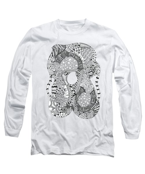 Sitting Long Sleeve T-Shirt