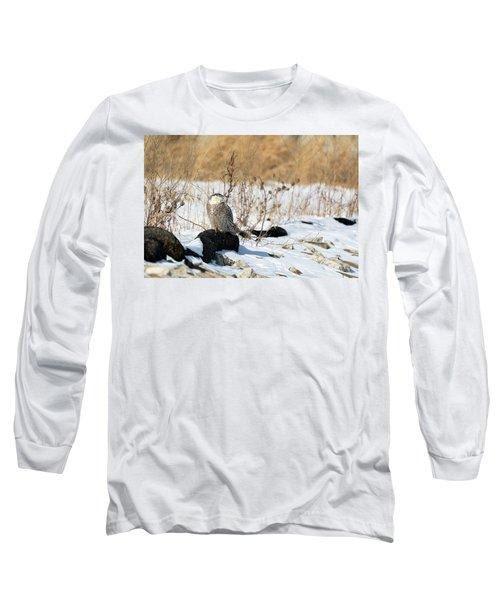Sitting Snowy Long Sleeve T-Shirt