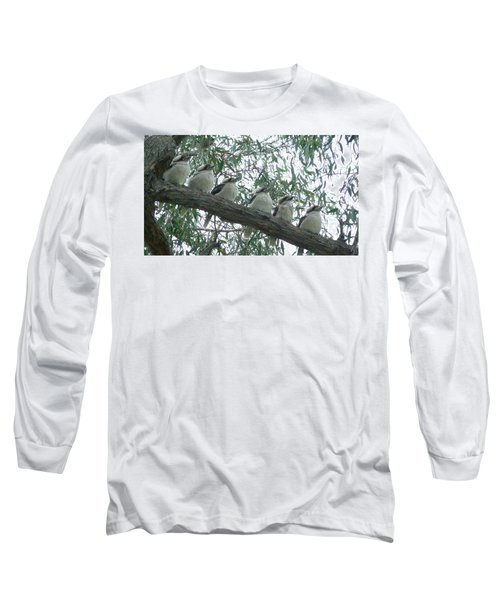Six In A Row Long Sleeve T-Shirt by Evelyn Tambour