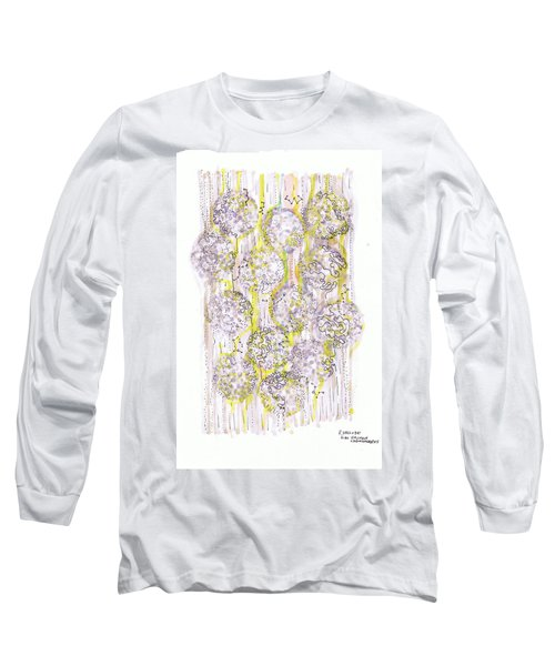 Size Exclusion Chromatography Long Sleeve T-Shirt by Regina Valluzzi