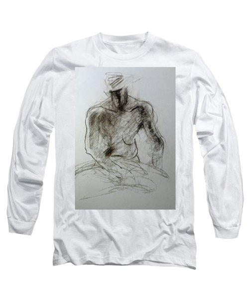 Sketch Of Torso Long Sleeve T-Shirt