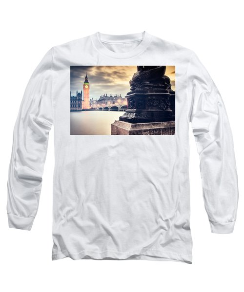 Skies Over London Long Sleeve T-Shirt