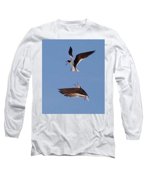 Skimmers In Flight Long Sleeve T-Shirt