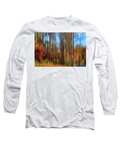 Skinny Forest Swipe Long Sleeve T-Shirt