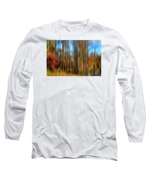 Skinny Forest Swipe Long Sleeve T-Shirt