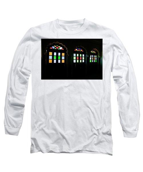 Skn 1251 Glass Hues Long Sleeve T-Shirt