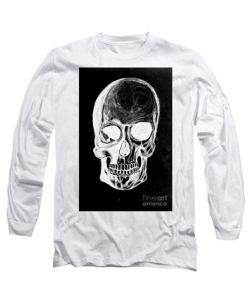 Skull Study 3 Long Sleeve T-Shirt