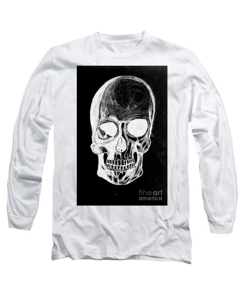 Skull Study 3 Long Sleeve T-Shirt