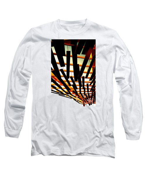 Sky Chasm Long Sleeve T-Shirt by Cathy Dee Janes