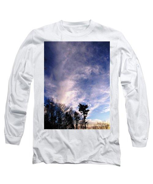 Sky Study 2 3/11/16 Long Sleeve T-Shirt