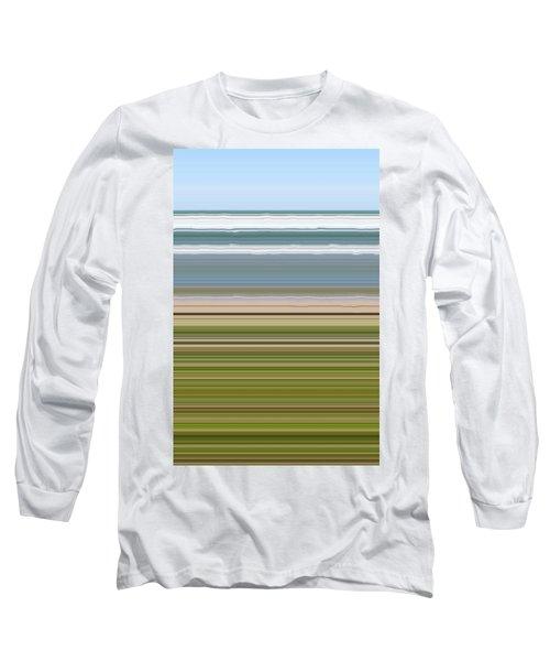 Sky Water Earth Grass Long Sleeve T-Shirt