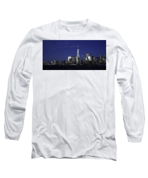 Skyline At Night  Long Sleeve T-Shirt