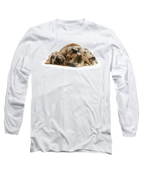 Sleep In Camouflage Long Sleeve T-Shirt