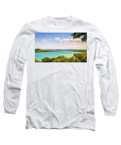 Long Sleeve T-Shirt featuring the photograph Sleeping Bear Dunes National Lakeshore by Alexey Stiop
