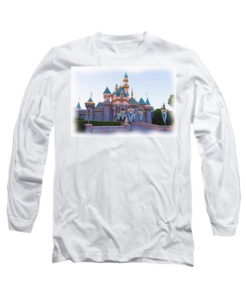 Sleeping Beauty's Castle Disneyland Long Sleeve T-Shirt
