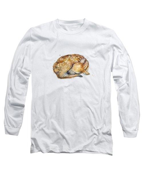 Sleeping Fawn Long Sleeve T-Shirt