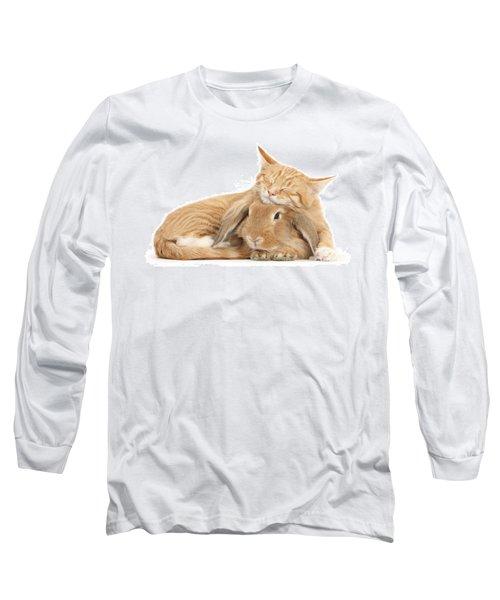 Sleeping On Bun Long Sleeve T-Shirt