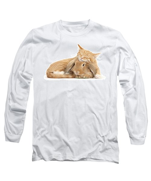 Sleeping On Bun Long Sleeve T-Shirt