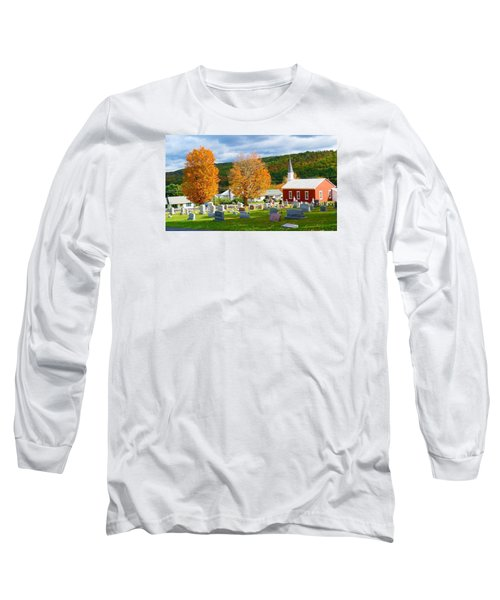 Sleeping Peacefully Long Sleeve T-Shirt by Jeanette Oberholtzer