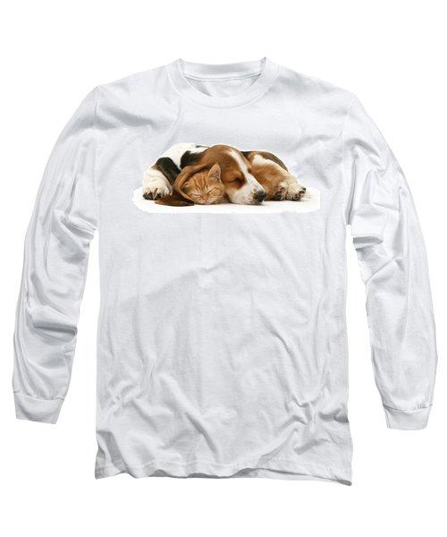 Sleepy Ginger Pals Long Sleeve T-Shirt