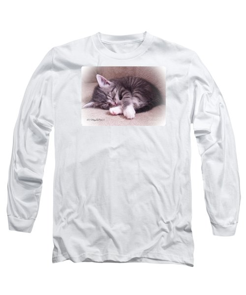 Sleepy Kitten Bymaryleeparker Long Sleeve T-Shirt