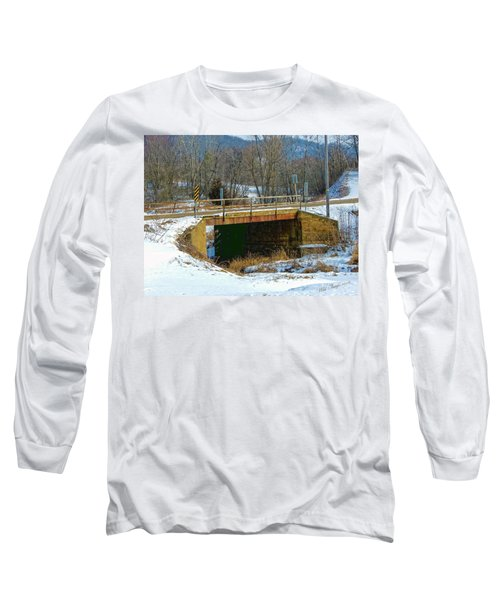 Sliding Into Home Long Sleeve T-Shirt
