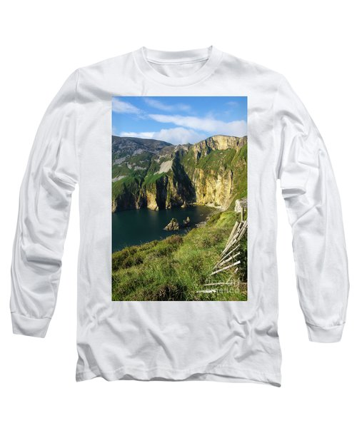 Long Sleeve T-Shirt featuring the photograph Slieve League Cliffs Eastern End by RicardMN Photography