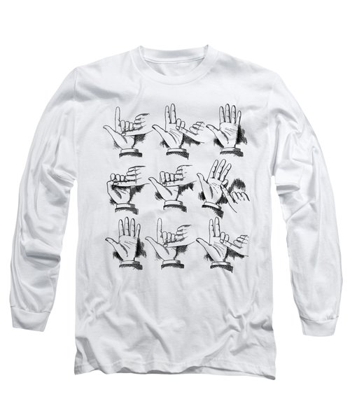 Long Sleeve T-Shirt featuring the digital art Slight Of Hand by Edward Fielding
