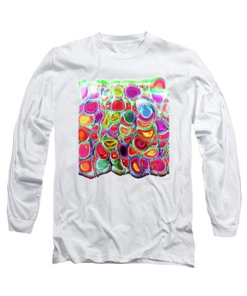 Long Sleeve T-Shirt featuring the digital art Slipping And Sliding by Menega Sabidussi