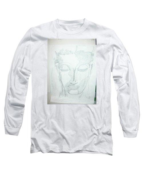 Slumbering Buddha Long Sleeve T-Shirt
