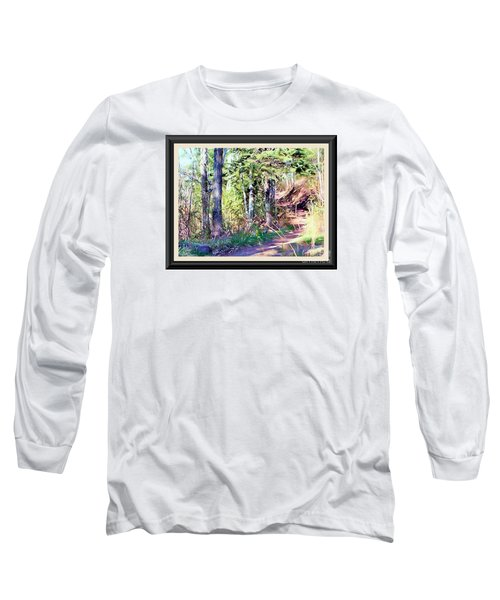 Long Sleeve T-Shirt featuring the photograph Small Park Scene by Shirley Moravec