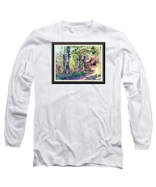 Small Park Scene Long Sleeve T-Shirt
