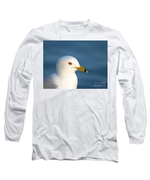Smiling Seagull Long Sleeve T-Shirt