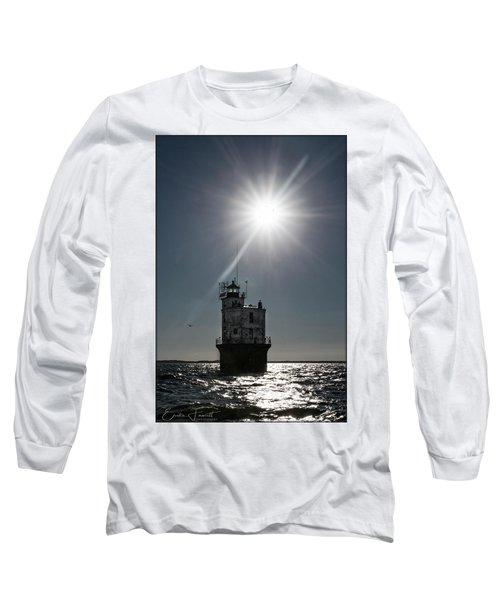 Smith Point Lighthouse Long Sleeve T-Shirt