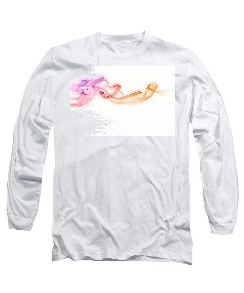Long Sleeve T-Shirt featuring the photograph smoke IV by Joerg Lingnau