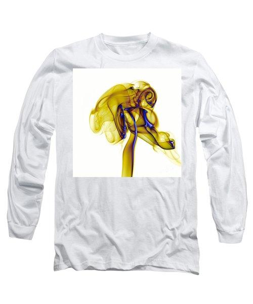 Long Sleeve T-Shirt featuring the photograph smoke VIII c by Joerg Lingnau