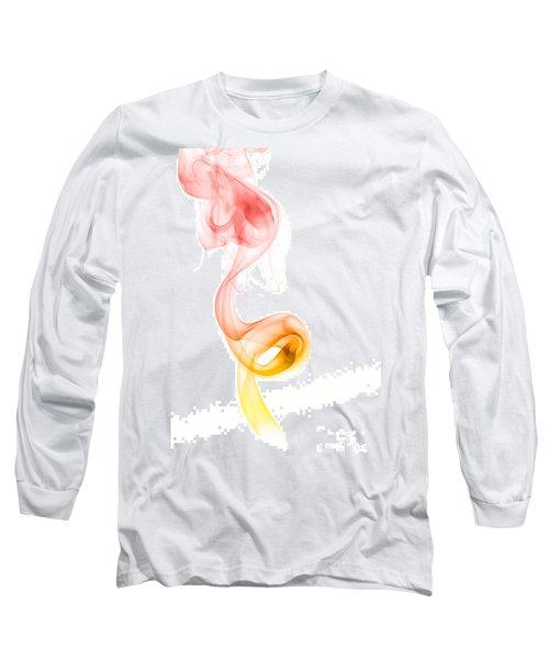 Long Sleeve T-Shirt featuring the photograph smoke XX by Joerg Lingnau