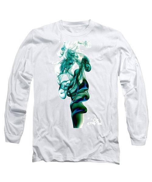 Long Sleeve T-Shirt featuring the photograph smoke XXIII by Joerg Lingnau
