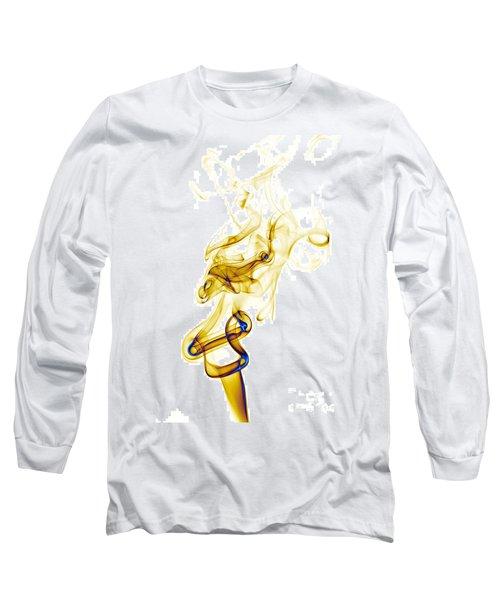 Long Sleeve T-Shirt featuring the photograph smoke XXXIX by Joerg Lingnau