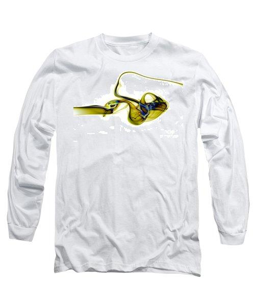 Long Sleeve T-Shirt featuring the photograph smoke XXXVII by Joerg Lingnau