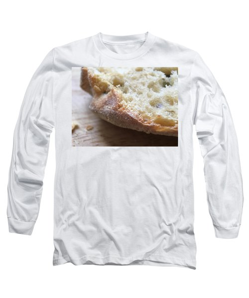 Smoked Prosciutto Open Sandwich Olive Ciabatta Roll Long Sleeve T-Shirt