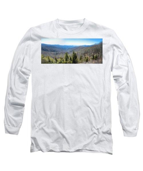 Smokey Mountains Pan Long Sleeve T-Shirt