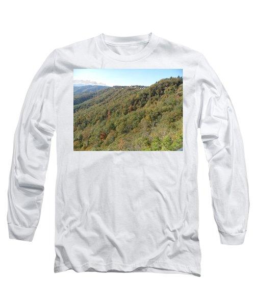 Smokies 19 Long Sleeve T-Shirt by Val Oconnor