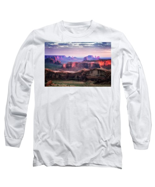 Smooth Sunset Long Sleeve T-Shirt by Nicki Frates