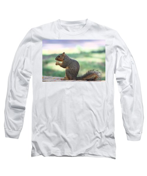 Snack Time Long Sleeve T-Shirt