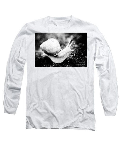 Snail Crawling On The Stone Artmif Long Sleeve T-Shirt