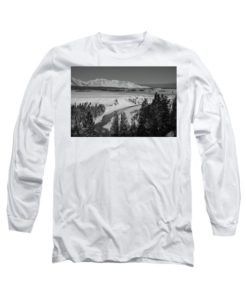 Snake River View Long Sleeve T-Shirt