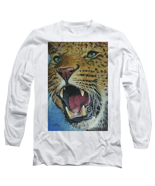 Snarl...amur Leopard Long Sleeve T-Shirt